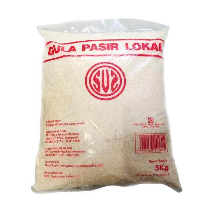 Info label kemasan gula pasir