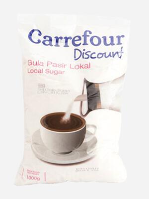 Kemasan gula pasir Carrefour full colour