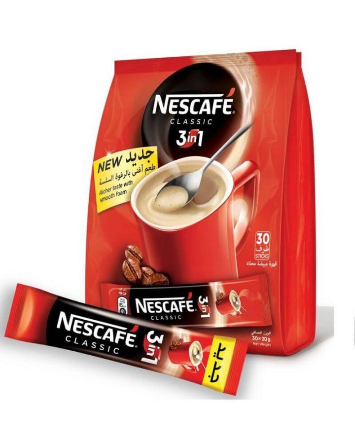Kemasan kopi stick nescafe classic