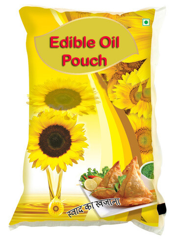 Edible oil packaging
