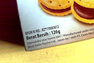 ijin bpom pada label kemasan makanan