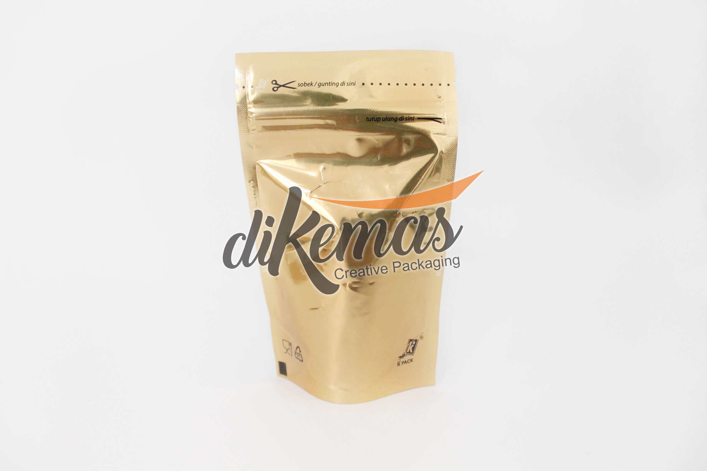 kemasan stand pouch metalize