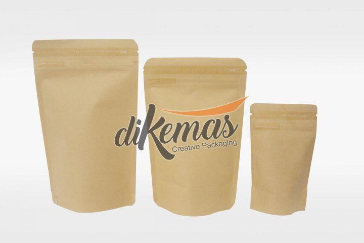kemasan stand pouch craft