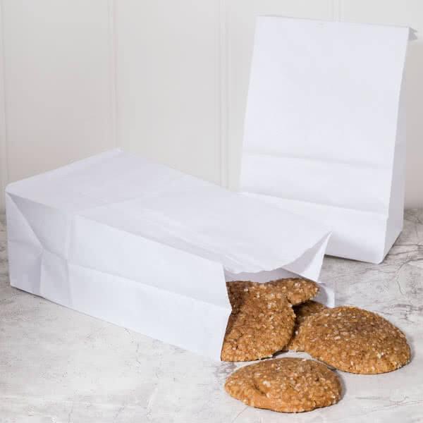 Kemasan Kantong Kertas Roti Boy Polos