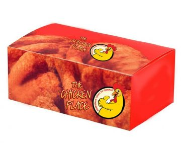 kemasan kertas box ayam goreng