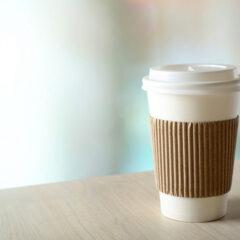 Paper cup kopi