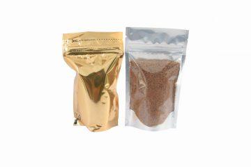 kemasan gula semut stand pouch kombinasi