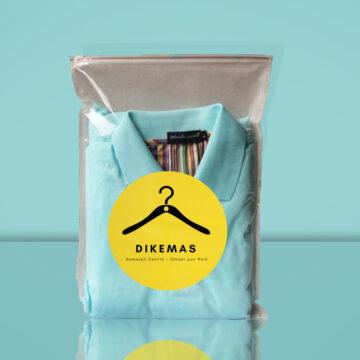 Kemasan Plastik Baju Dilengkapi Dengan Zipper