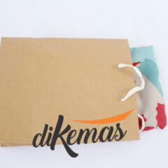kemasan jilbab unik paper bag