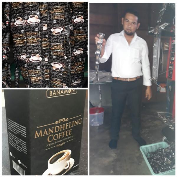 kemasan sachet mandheling coffee