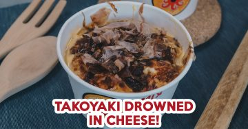 paper bowl takoyaki