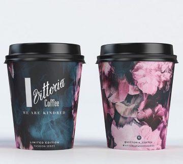 paper cup full desain