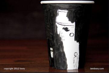 paper cup keren