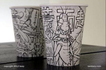 paper cup keren juga
