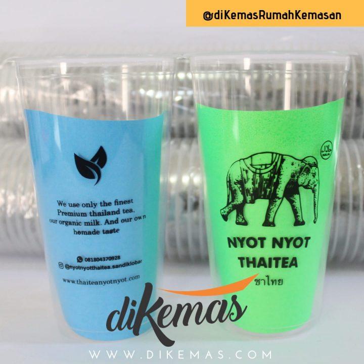 Stiker Gelas Plastik, Salah Satu Cara Buat Gelas Plastikmu Berbeda!
