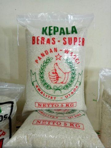 kemasan beras pandan wangi