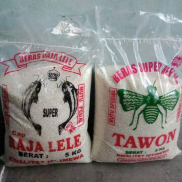 plastik beras sablon 5 kg
