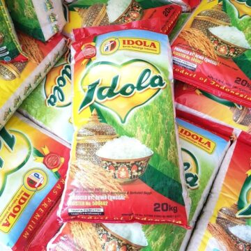 kemasan plastik beras idola