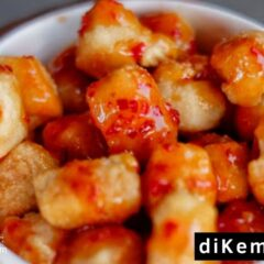 Ide Usaha Tahu Crispy Pedas Pake Desain Kemasan Kekinian!