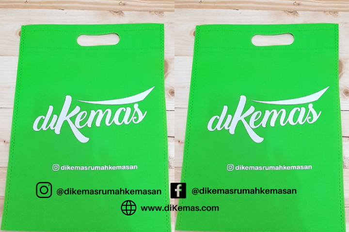 Kantong Spunbond Sablon, Alternatif Kemasan Produk Fashion!