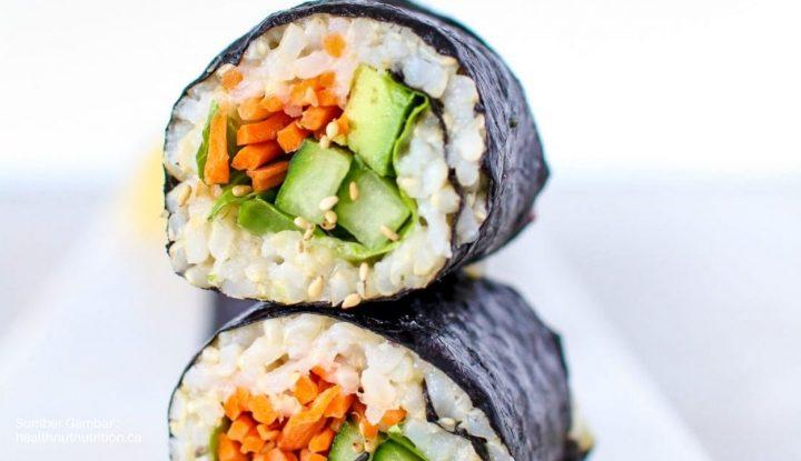 Resep Sushi Roll Buat Bikin Usaha Makanan Jepang Kekinian